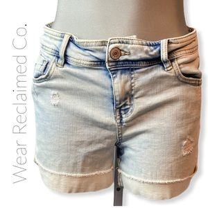 🛍3/$30 ARDENE Distressed & Faded Denim Shorts
